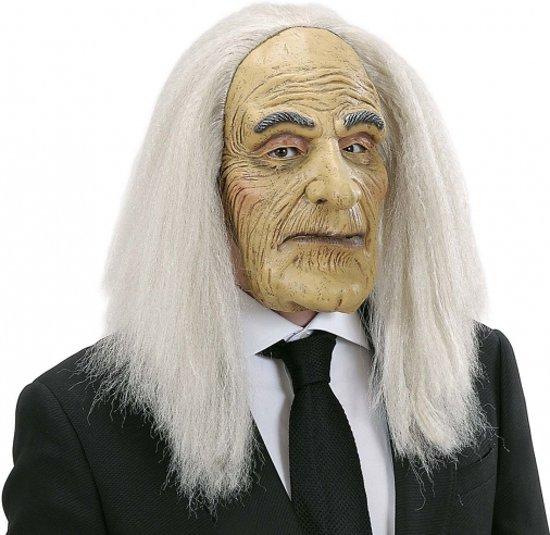 Halloween Butler masker met pruik