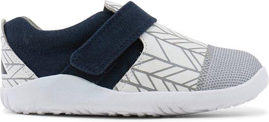 Bobux - I-Walk Play  - Aktiv White/Grey Herringbone - 25