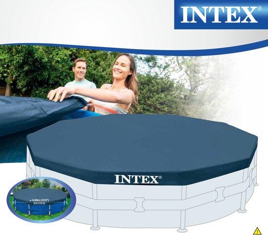 Intex Afdekzeil voor Metal Frame Pool 305cm