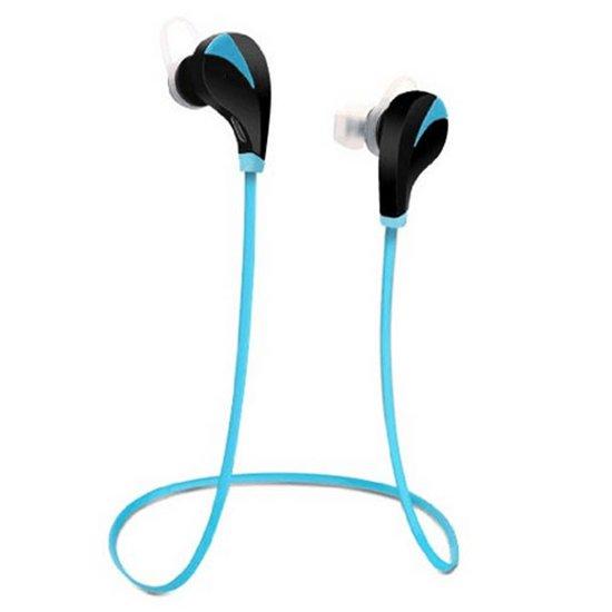 Draadloze In-Ear Oordopjes Bluetooth Headset - Sport Headset - Hoofdtelefoon - Draadloze Koptelefoon - Wireless Oortjes - Inear Headphones - Draadloos Telefoneren en Muziek Luisteren - Blauw in Jouswerd