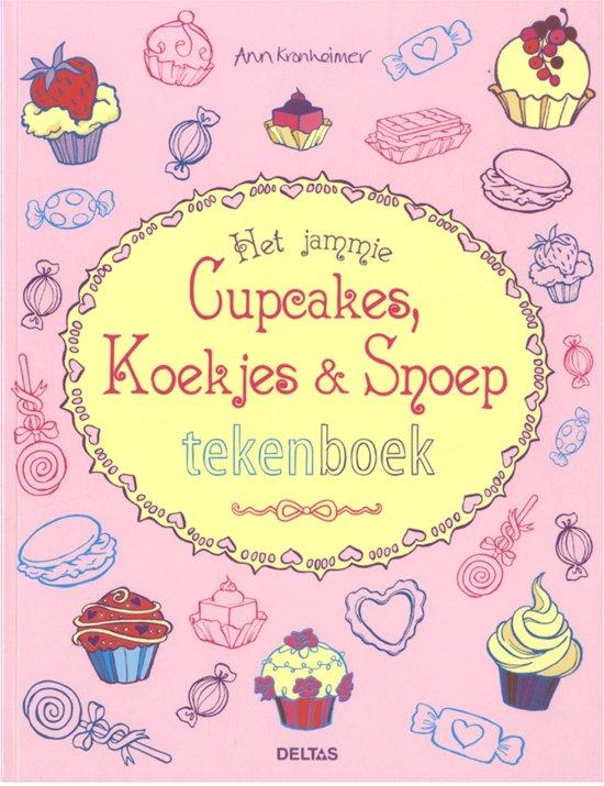 Het Jammie Cupcakejes, Koekjes En Snoep Tekenboek