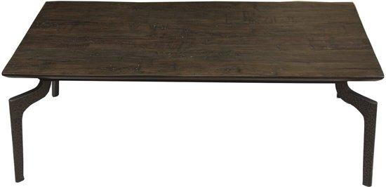 Salontafel Donker Hout.Nordal Salontafel Wooden Bruin Hout 40 X 120 X 70
