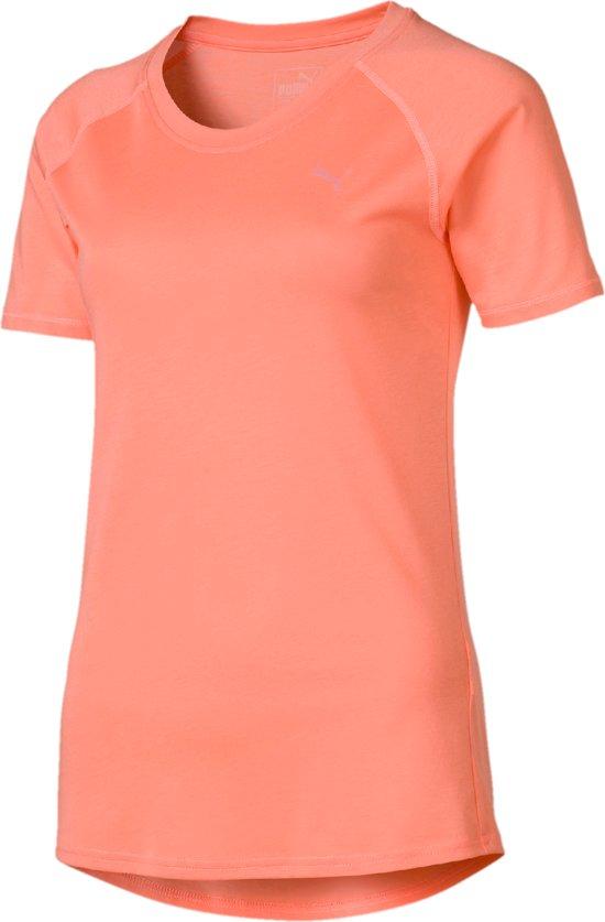 c Puma Shirt Tee DamesBright Peach eRaglan A YH2WDEI9