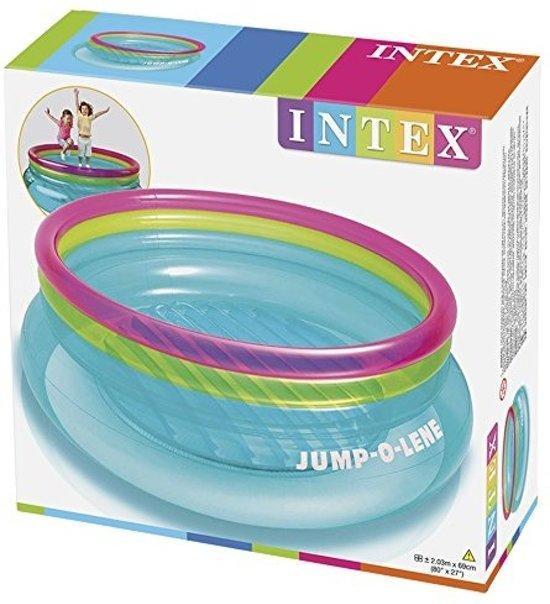 Intex trampoline ´jump-o-lene´- met reparatiesetje