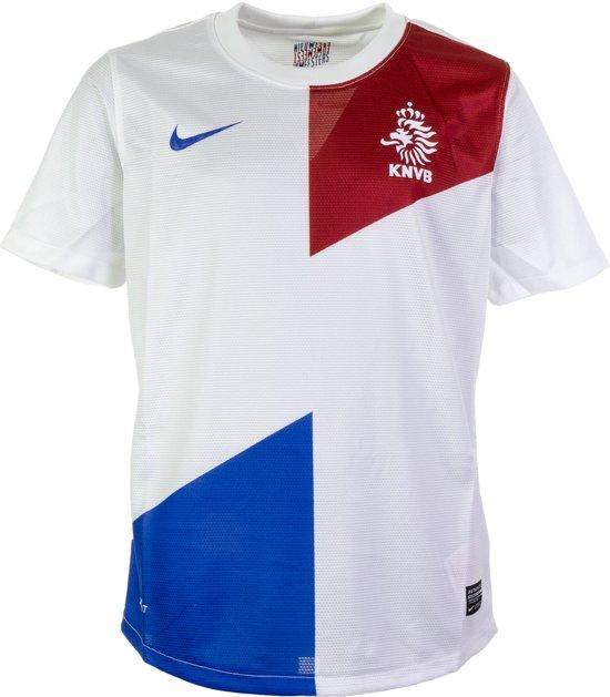 blauw Nederlands Nike Sportshirt Uit Junior Elftal rood M Maat Wit Unisex Shirt 4PqwpTPR