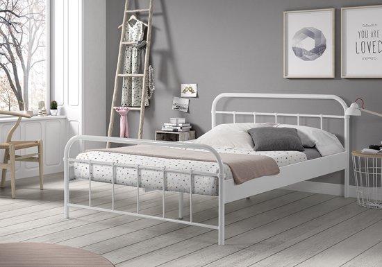 Ledikant 140x200 Aanbieding.Vipack Boston Bed 140x200 Cm Wit