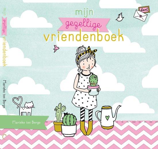 Mijn gezellige vriendenboek van Marieke ten Berge. Bol.com mamalifestyle, mamalifestyleblog, mamablog, mamablogger