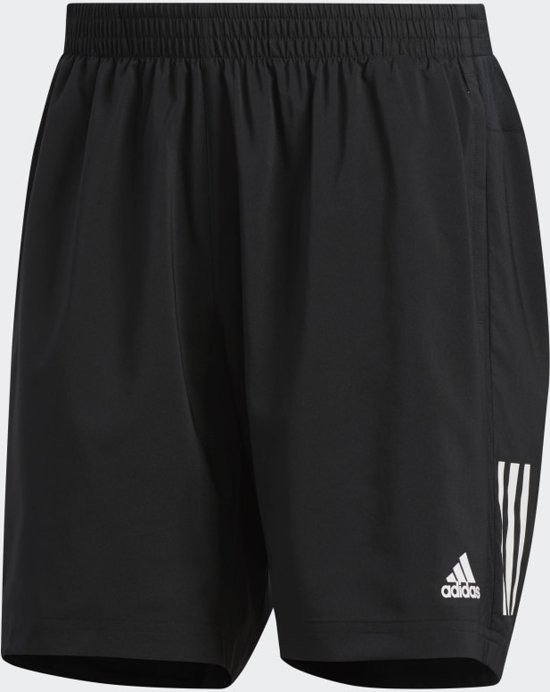 adidas OWN THE RUN SH Heren Sportbroek - Zwart - S