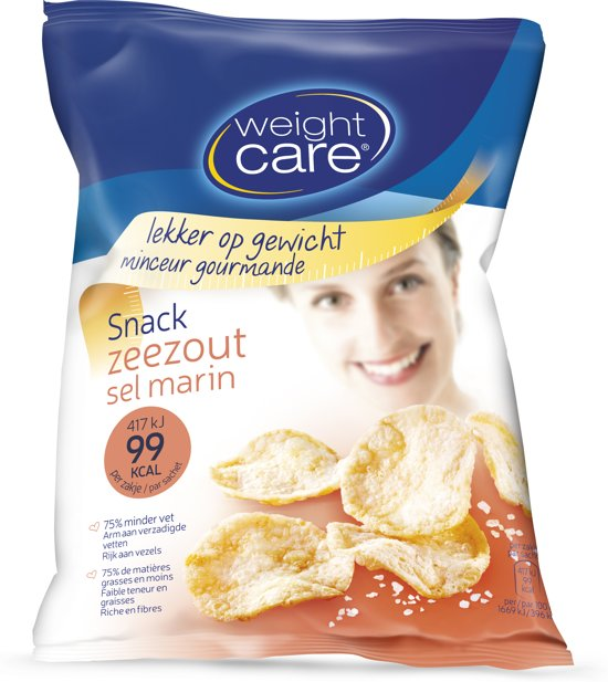 Weight Care Snack Chips Zeezout - 25 gram - Snack