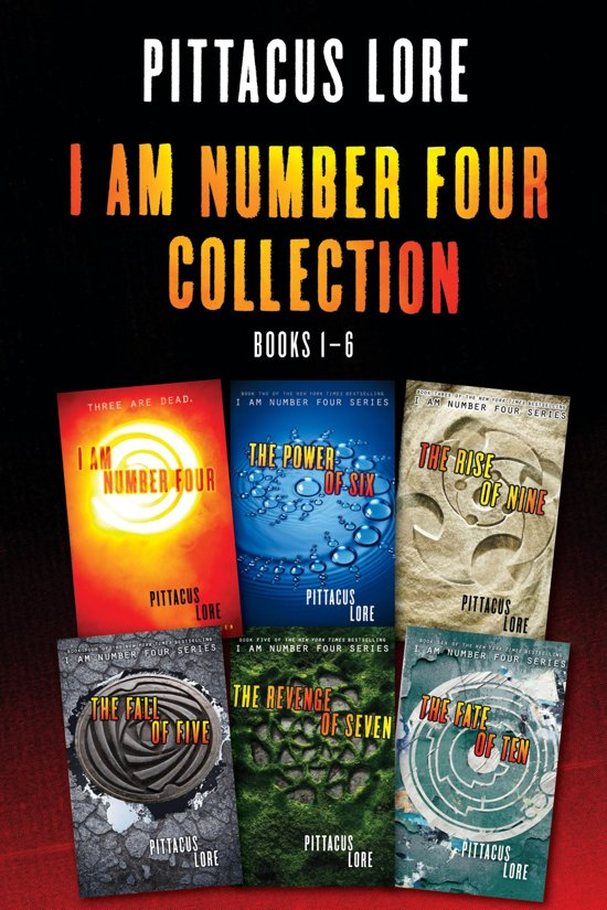 Bol Com I Am Number Four Collection Books 1 6 Ebook Pittacus