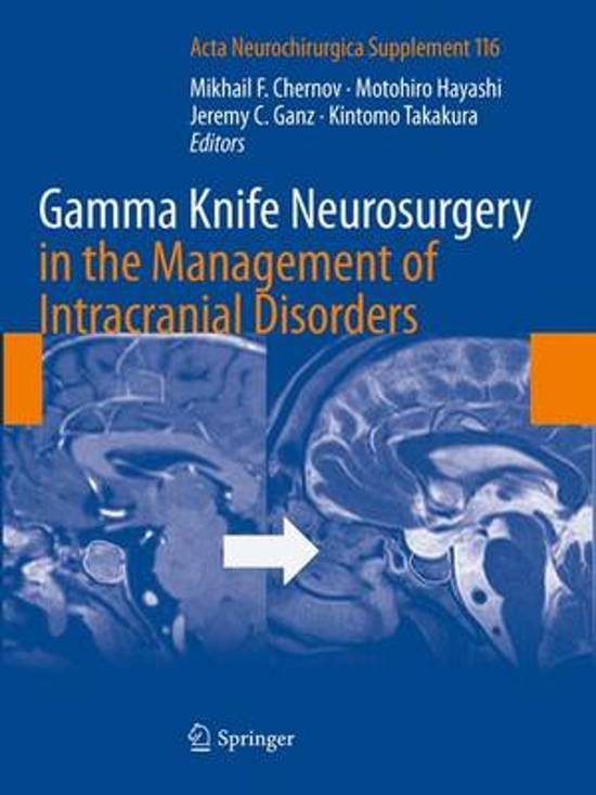 Gamma Knife Neurosurgery in the Management of Intracranial Disorders