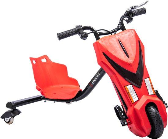 Elektrische Drift Trike Kart 250W 36V Rood