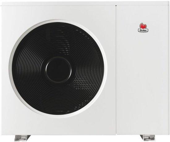 Bulex CC lucht/water-warmtepomp Genia air vermogen 5KW klasse ErP A+ dimension 800x980x360 mm