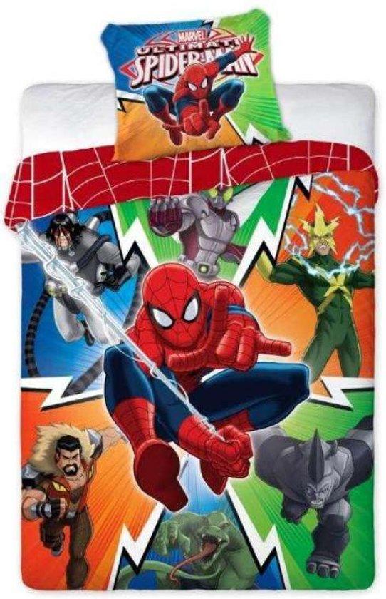 Kinderdekbedovertrek Spiderman Multi