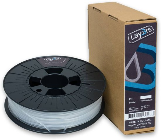Lay3rs PP Transparant - 1.75 mm