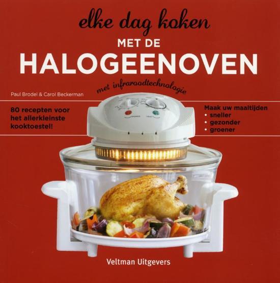 Boek cover Elke dag koken met de halogeenoven van Carol Beckerman (Paperback)