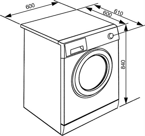 Smeg WHT914LSIN - Wasmachine