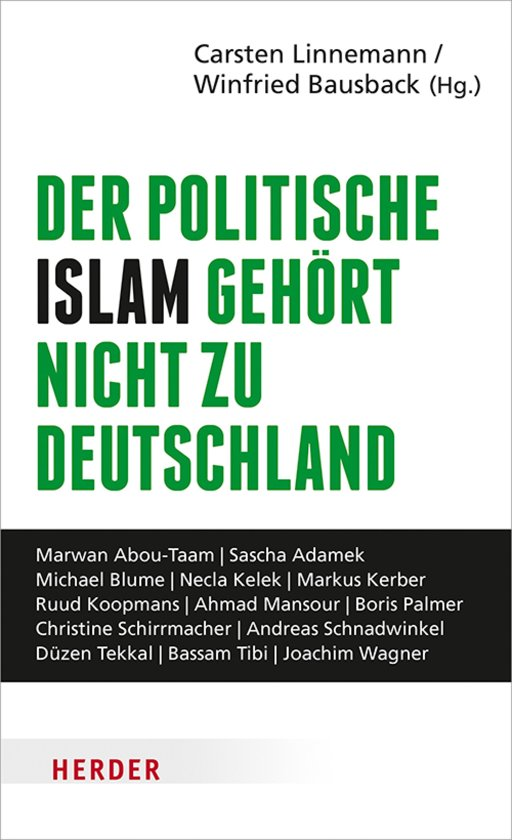 Boek cover Der politische Islam gehört nicht zu Deutschland van Bassam Tibi (Onbekend)
