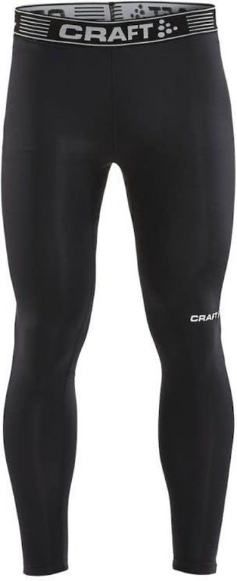 Craft Pro Control Compressietight Unisex Zwart M