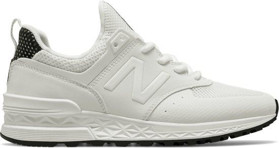 new balance sneakers dames wit