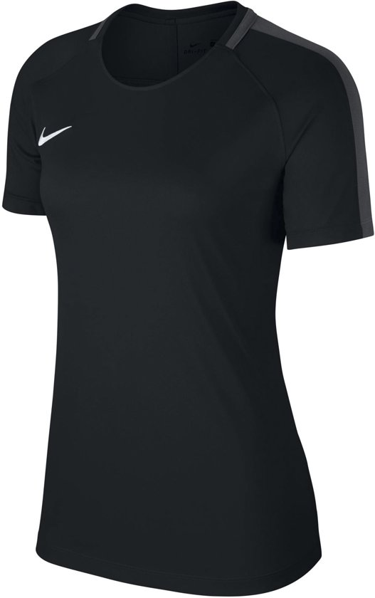 Nike Dry Academy 18 Sportshirt Dames - zwart