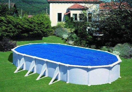 Gre Zwembad Zwembad afdekzeil zomer ovaal 8,1 x 4,7 m 401065