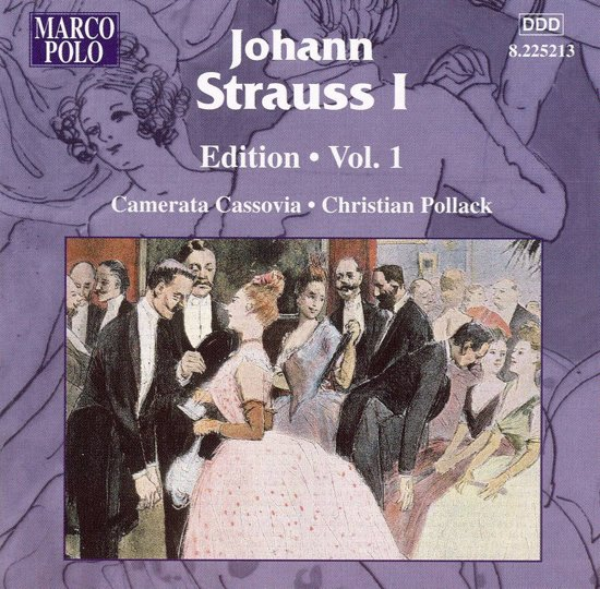 Johann Strauss I Edition, Vol. 1
