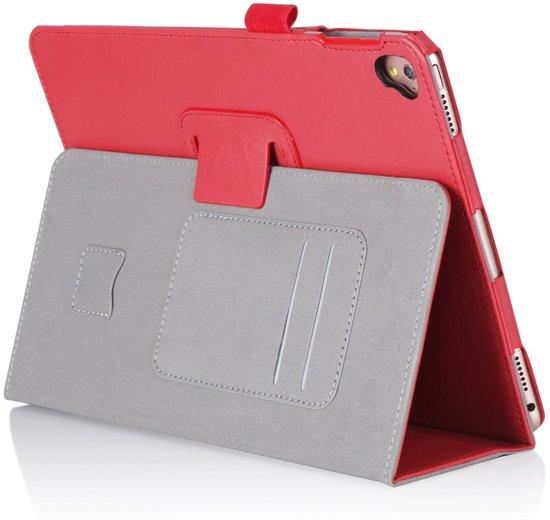 Shop4 - iPad Pro 9.7 Hoes - Handige Luxe Book Cover Rood in Schietecoven