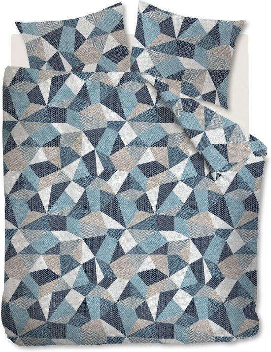 Beddinghouse Thoms - Dekbedovertrek - Eenpersoons - 140x200/220 cm - Blauw Grijs