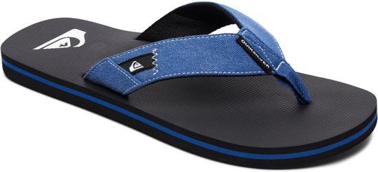 Quiksilver Molokai Abyss Heren Slippers - Blue/Black/Blue - Maat 9(42)
