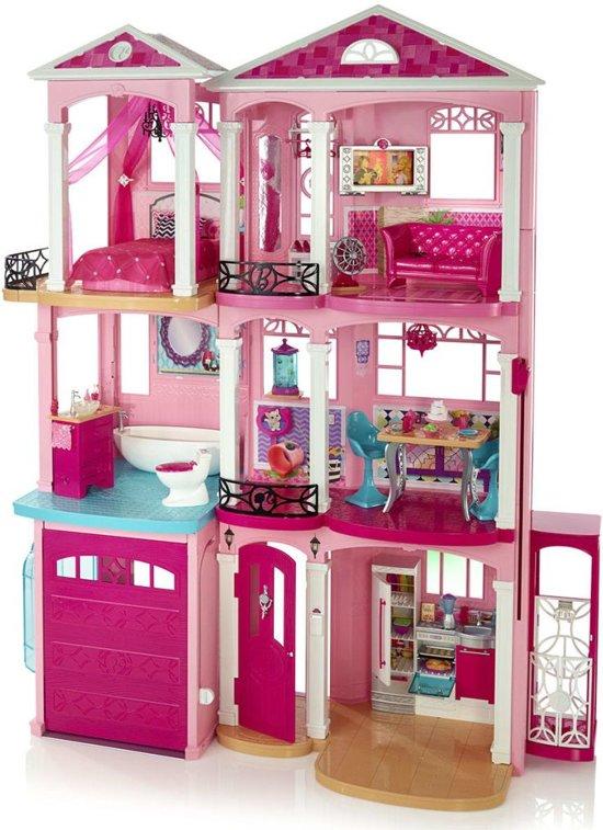 barbie droomhuis barbiehuis mattel speelgoed