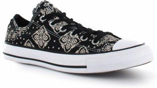 44f23cfe601 bol.com | Converse Chuck Taylor OX - Damessneaker - Zwart - Maat 37