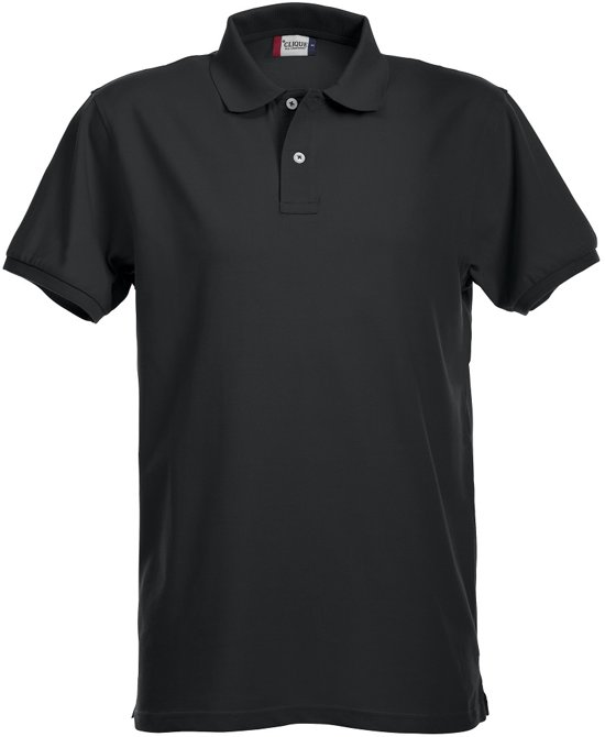 Premium heren polo zwart xl