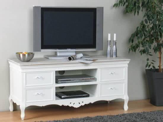 Hioshop barcelona tv meubel wit for Meubel sale