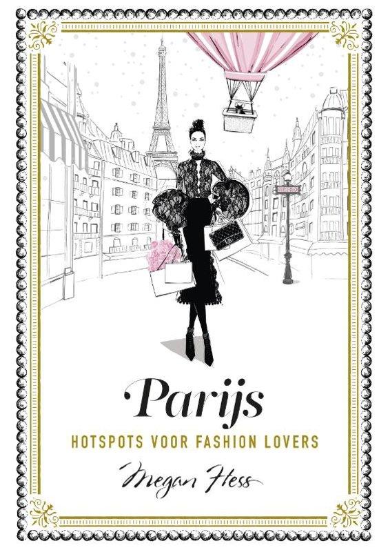 Boek cover Parijs van Megan Hess (Hardcover)