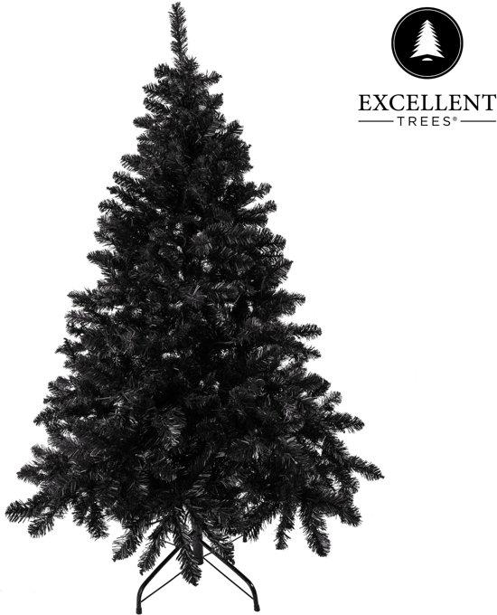 Zwarte kerstboom Excellent Trees® Stavanger Black 150 cm - Luxe uitvoering