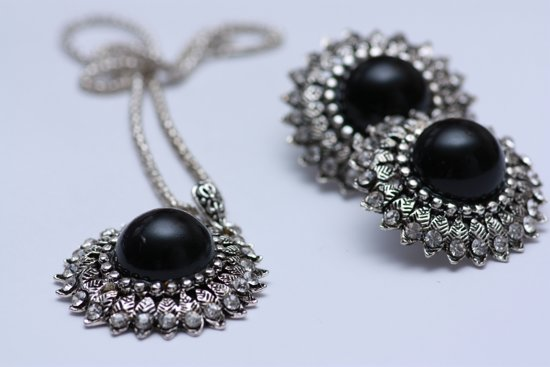 Dames Juwelen Set Ketting Met Oorbellen  Cadeau Voor Vrouwen