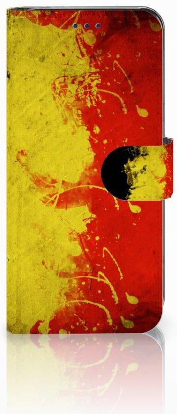 Leuk Design Hoesje Belgische Vlag voor de Samsung Galaxy S8 in Heiligeboom
