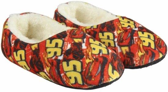 463033af685 bol.com | Rode Cars pantoffels / sloffen met pluche voor jongens 22-23