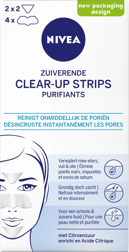 NIVEA Zuiverende Clear-Up Strips - 6 stuks
