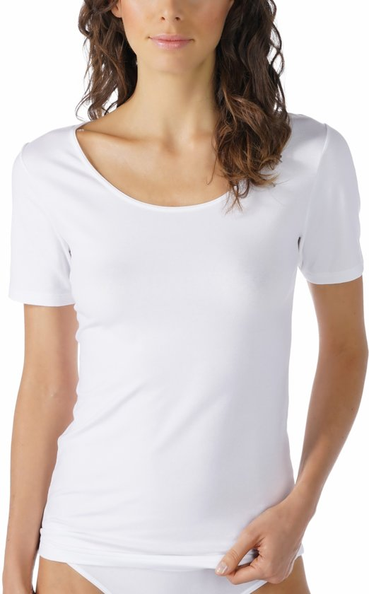 Mey T-shirt met korte mouwen Cotton Pure 26500