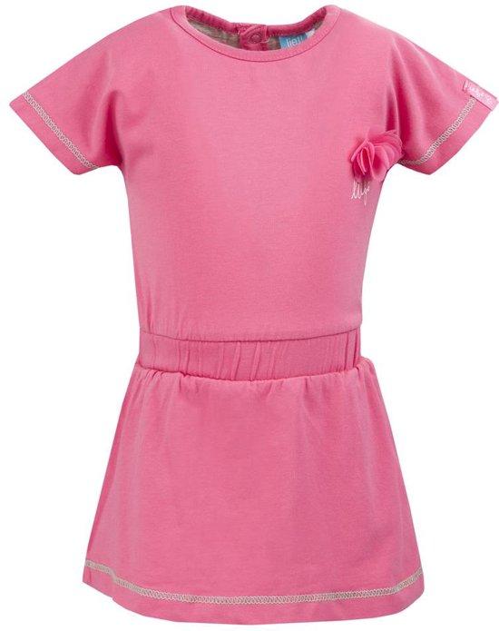 12a753586f08f7 bol.com | Lief! Lifestyle Meisjes Jurk - Fandango Pink - Maat 80