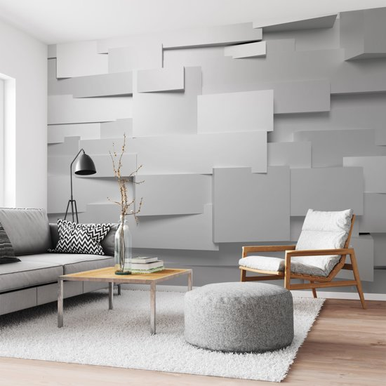 W+G 3D Wall - Fotobehang - 366x254cm