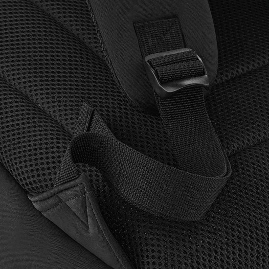 Zwart Rugzak Trendy Backpack Senvi Kleur Duikersstof 8nXpzTqw