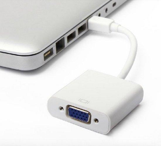 Mini Display Poort naar VGA adaper HaverCo / Wit