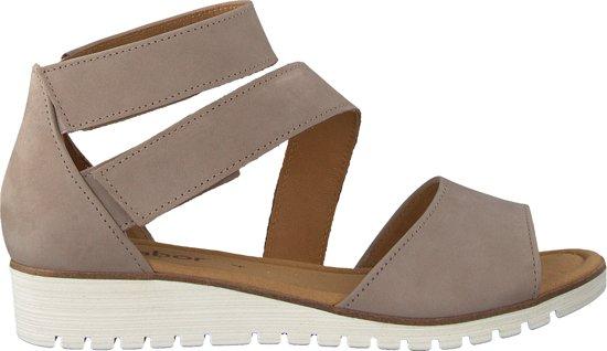 Mode-Design Sonderteil neue Stile Gabor Dames Plateau sandalen - Beige - Maat 38