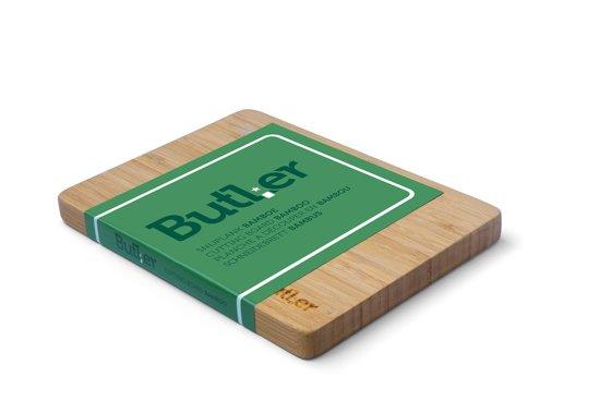 Butler Snijplank - Bamboe - 220x165x18mm