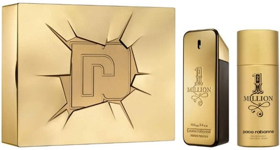 Paco Rabanne 1 Million 100ml EDT Spray / 150ml Deodorant Spray