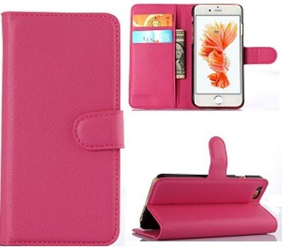 iPhone 6 6s Portemonnee Hoesje Case Roze