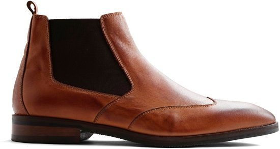 Boots Cognac Leer Heren Travelin Leather Linate Maat Chelsea 42 vyPA1
